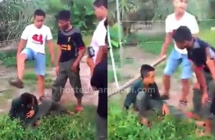 Video Budak Kena Buli Di Mukim Air Hitam Johor