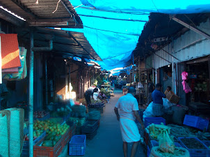 Ernakulam vegetable market.