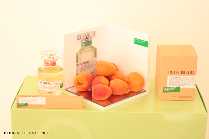Benetton event united dreams fragrance memorable days for Benetton united dreams love yourself