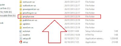 """Cari Folder """"Proplusr.ww"""" menjadi """"Proplus.ww"""""""