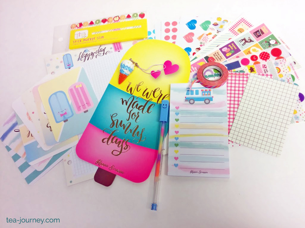 Planner Kits: Studio Calico and Happie Scrappie |   Along my Tea Journey I found that intentional planning, planning to reach your highest potential, keeps you focused on your goals. So this weekend I thought I would share my favorite planner kit subscriptions.Packed with washi, inserts, stickers, project life cards and even dashboards. What more could a planner want?