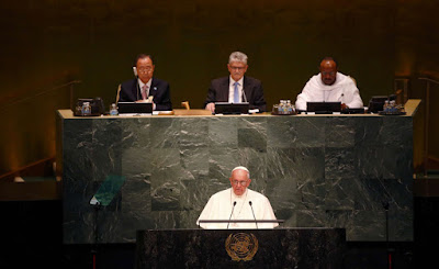 Sigue #EnVivo el discurso del papa Francisco en la ONU
