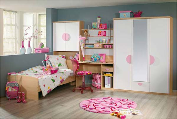 transitional modern young girls bedroom ideas3 - Young Girls Bedroom Design