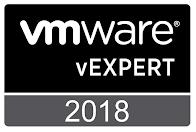 VMware vExpert 2018, 2017