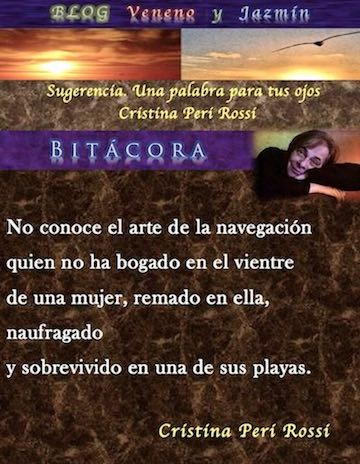 Bitácora, Cristina Peri Rossi