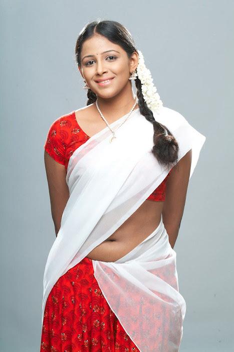 subhiksha spicy in saree latest photos