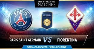 PSG vs Fiorentina
