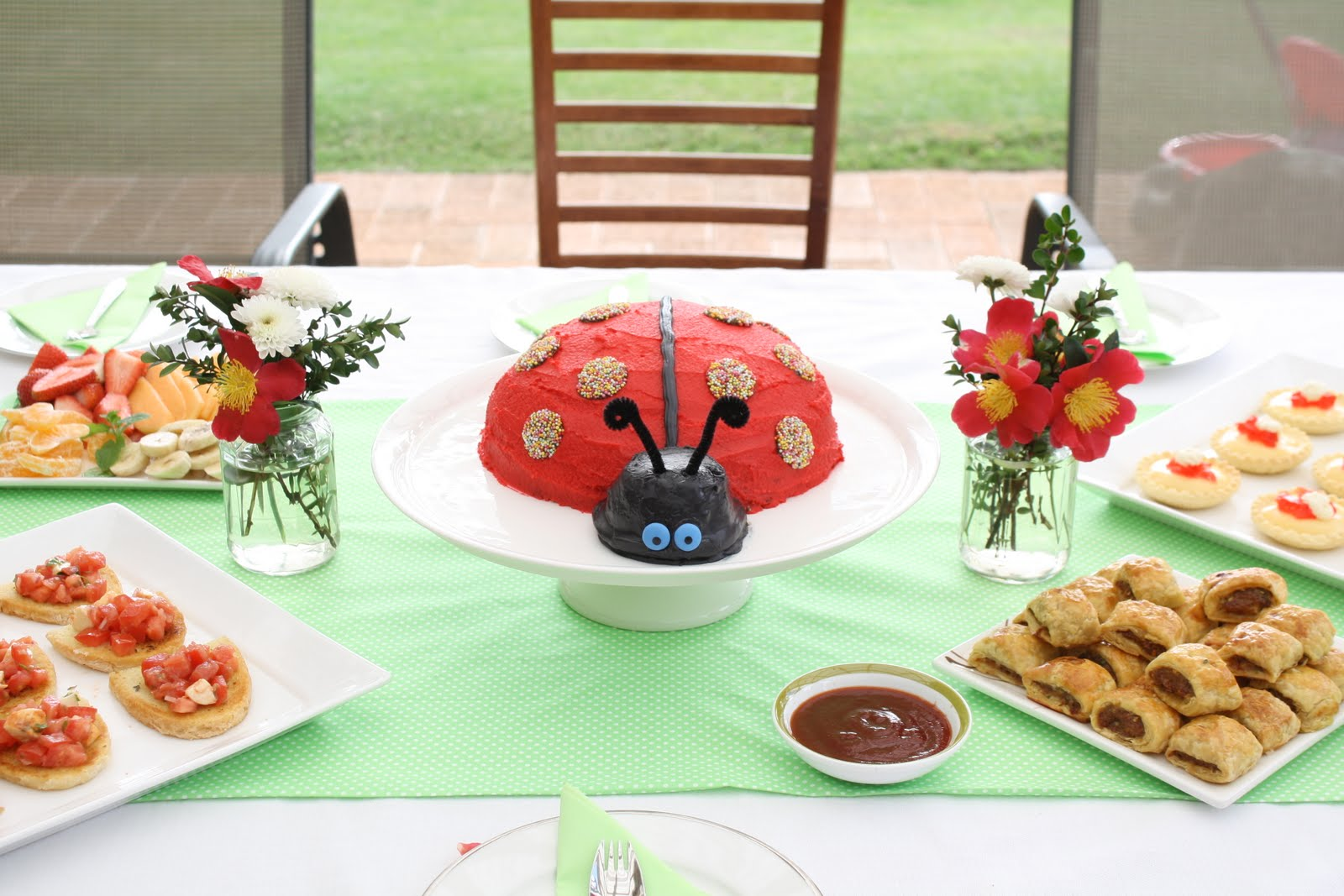 Bubby Makes Three Party Inspiration Series The Ladybug