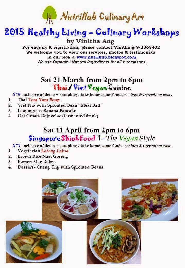 Thai / Viet - Vegan Culinary class by Vinitha @ NutriHub