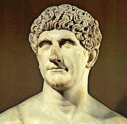 Cleópatra, qual a verdade por detrás do mito? Busto-de-marco-antonio-lugar-tenente-de-cesar