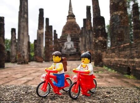 Đồ chơi xe đạp Lego