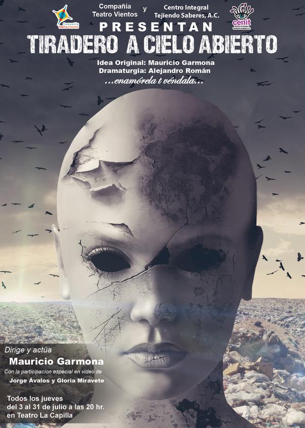 """Estreno de """"Tiradero a cielo abierto"""" en el Teatro La Capilla"""