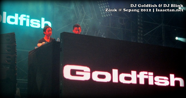 DJ GOLDFISH and Blink Zouk @ Sepang International Circuit 2012