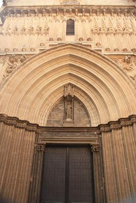Gothic doorway of Sant Iu