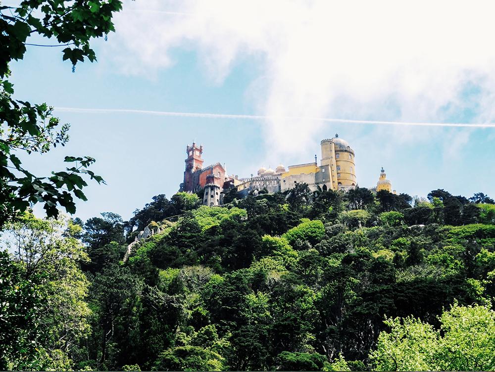 Palais de Pena, visiter Sintra Portugal