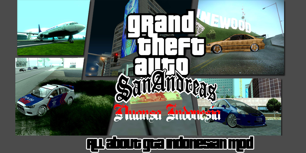 GTA SA Nuansa Indonesia