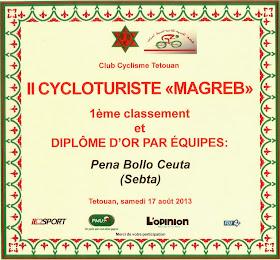 """Ya tenemos el Diploma de Oro de la Ciclo """"Magreb"""""""