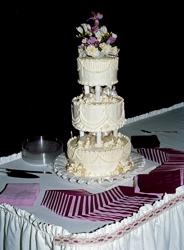 Three Tier Vintage Wedding Cake To see daily pictures recipes