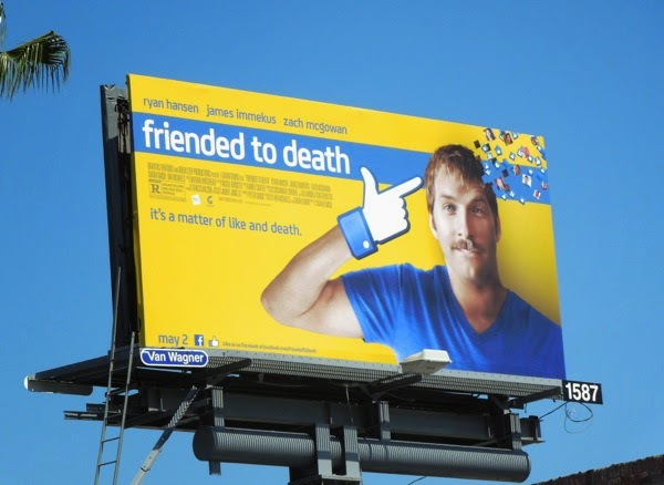 Friended to Death movie billboard