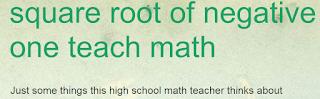 math blog