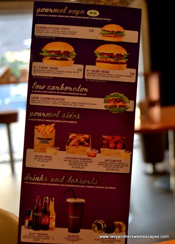 BurgerFuel menu 2