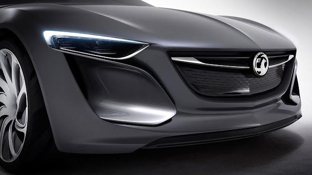Opel/Vauxhall Monza Concept detail