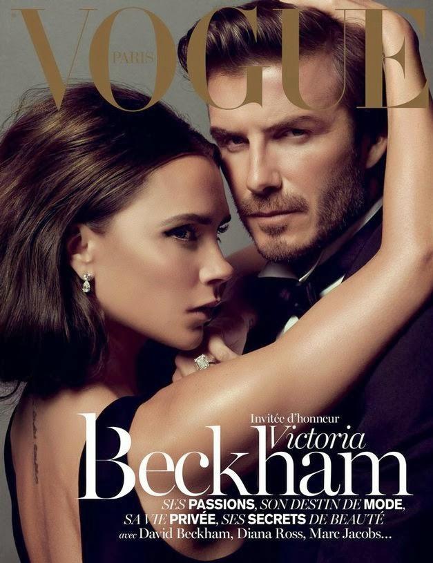 Victoria and David Beckham cover Vogue Paris