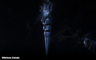 fotografia de fumo
