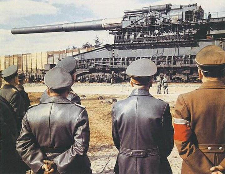 Meriam Terbesar Dunia Zaman Hitler Gunakan Untuk Takluk Eropah