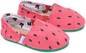 DIY zapatillas estampado sandía