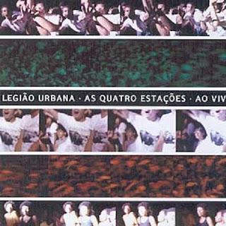 Legião Urbana As Quatro Estações ao Vivo (Disco 2) CD Capa