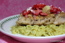 Chicken with Strawberry Feta