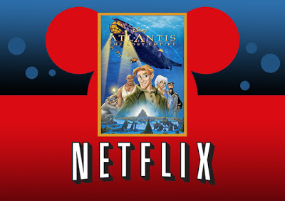 Disney Netflix Atlantis anmated adventure digital streaming