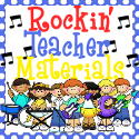 Rockin' Teacher Materials blog button