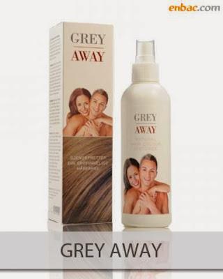 Grey Away thuốc xịt làm đen tóc, Grey Away giảm tóc bạc