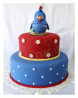 bolo festa infantil galinha pintadinha