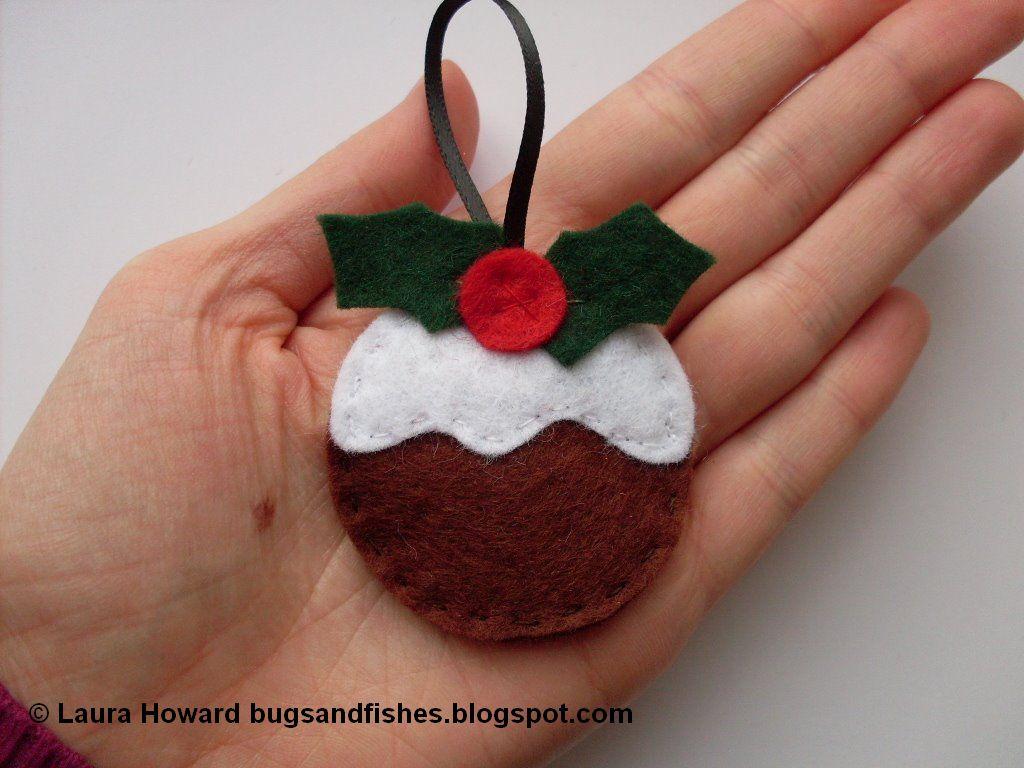 Anilegra moda para mu ecas adornos de navidad caseros for Bolas navidad fieltro