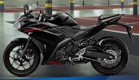 Motor Yamaha R 25 Predator Black
