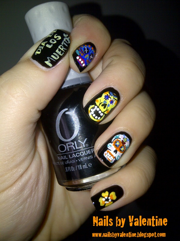 Nails By Valentine Mexican Sugar Skulls