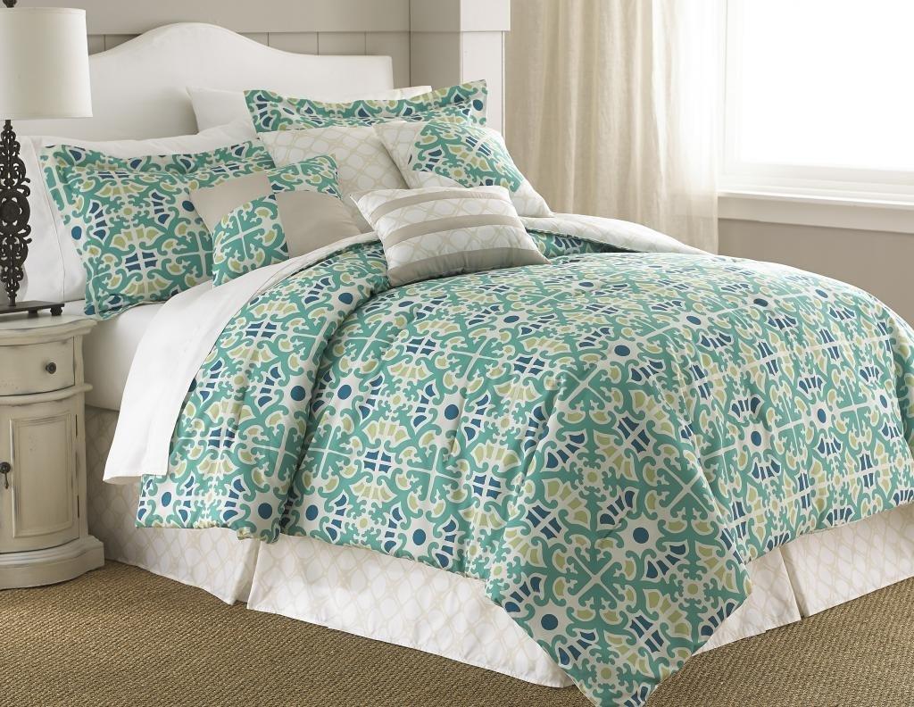 Mint U0026 Green Color Bedding