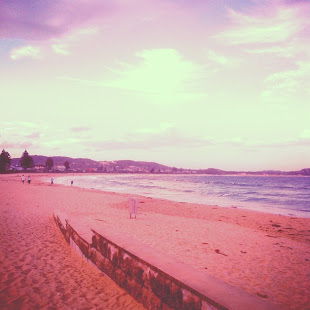 Instagram Sunrise at Terrigal beach