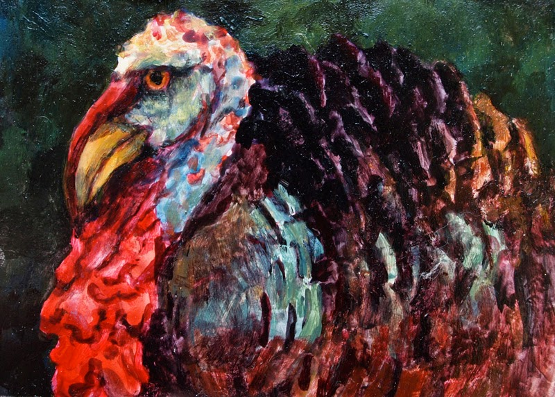 Daily Painters Of Pennsylvania Colorful Contemporary Animal