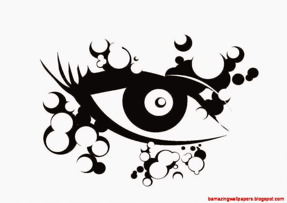 Free designs   Abstract eye wallpaper