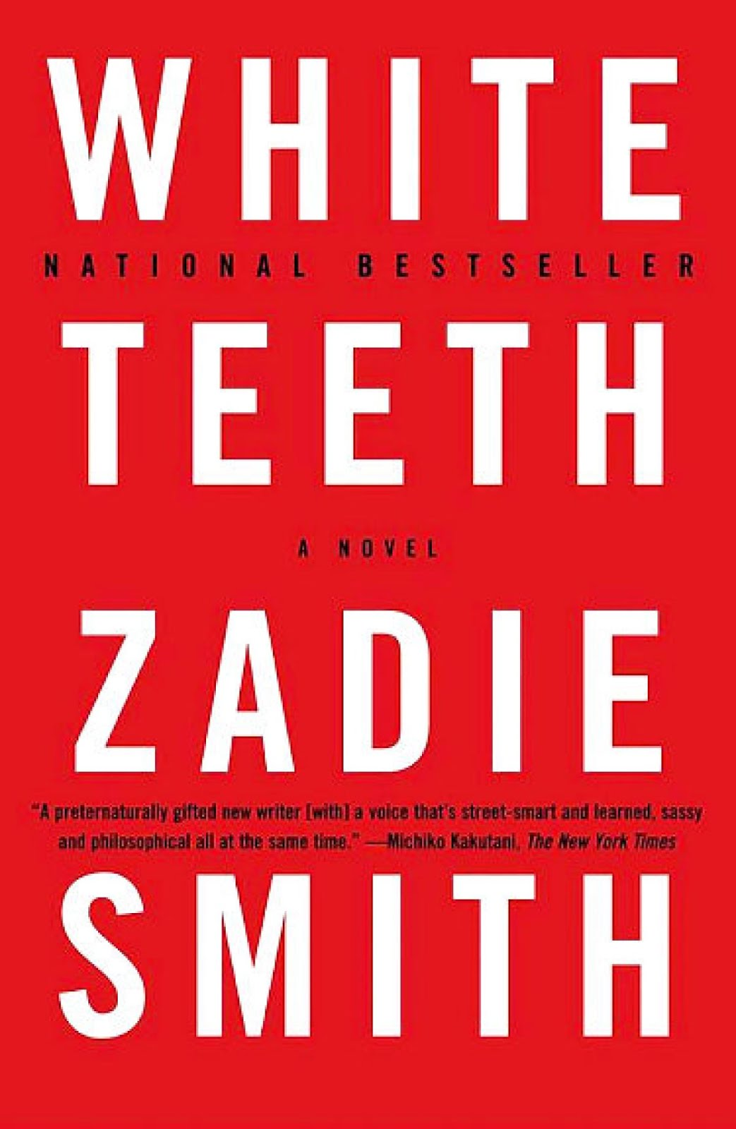 March Selection: Zadie Smith's White Teeth