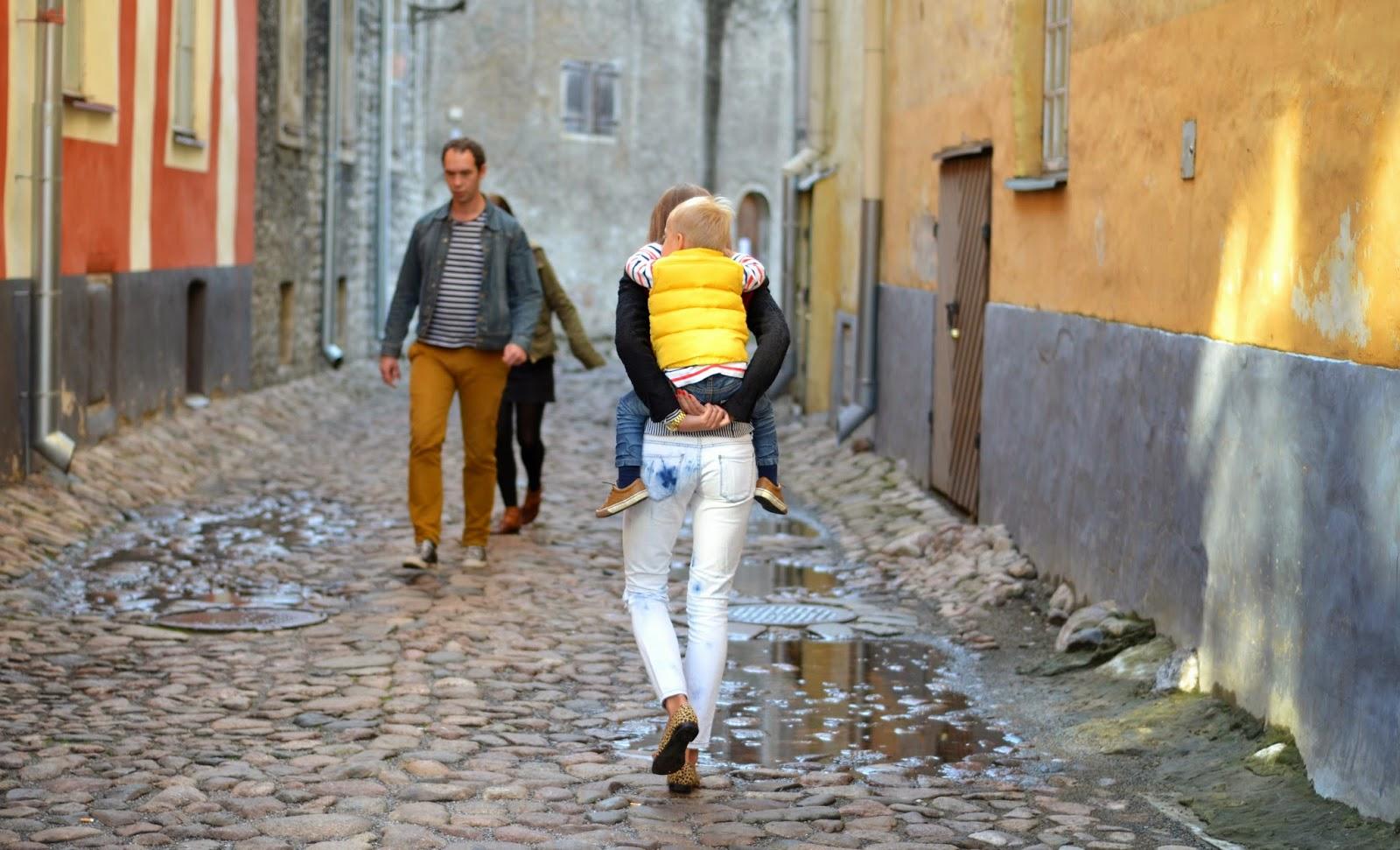 tallinn old town streets