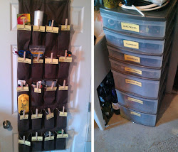 Our organized utility room