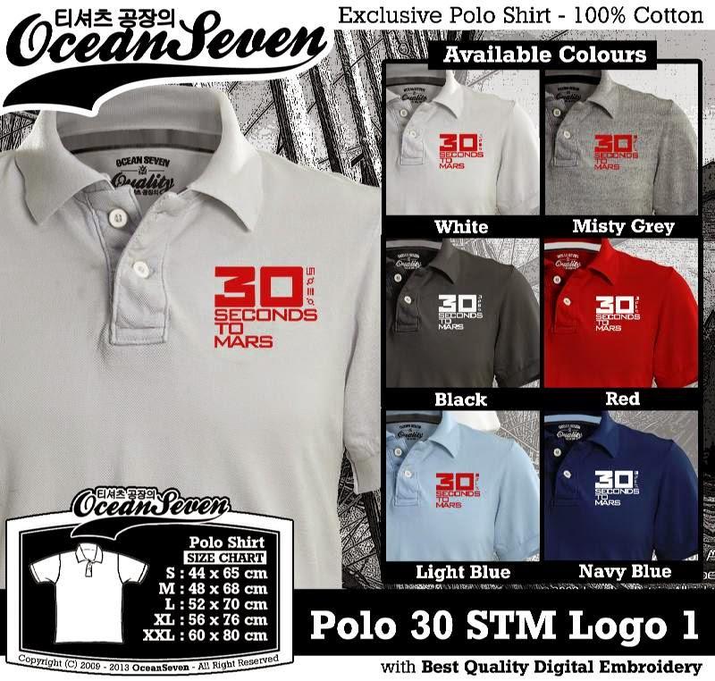 Kaos Polo 30 STM Logo 1