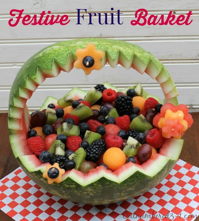 Fruit basket: an interesting recipe