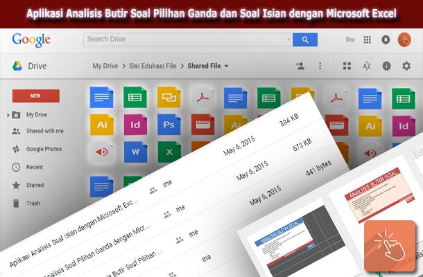 Aplikasi Analisis Butir Soal Pilihan Ganda dan Soal Isian dengan Microsoft Excel