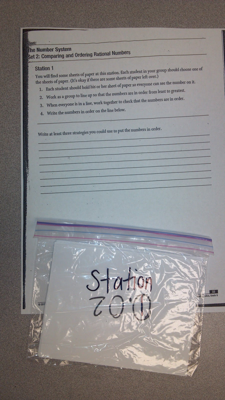 Mrs. Graff\'s 6th Grade Math Class: January 2013